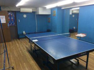 卓球場 個室